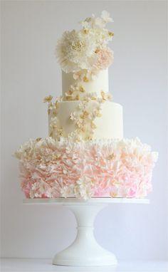Wedding Weddings Wedding Cake Featured Wedding Cake Maggie Austin