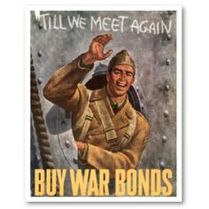 Buy Bonds - WW2 poster