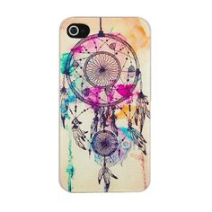 phone cases for iPhone 4s, Phone cases for girls, gift ideas. Awesome alternate colored dream catcher case for iPhone 4 / 4s & 5. (Only $7 Via. GirlCrave.com)