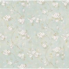 "Found it at Joss & Main - Bryan 33' x 20.5"" Floral 3D Embossed Wallpaper"
