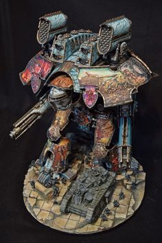 BOLS - Sistine Sisters 1 http://www.belloflostsouls.net/2016/11/showcase-stunning-freehand-warlord-and-titan.html