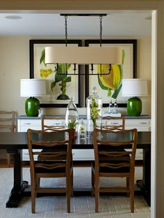 "For a chandelier that will hang over a table:      The width of the chandelier should be about 1/2 to 2/3 the width of the table it will be hanging over.     The width of the chandelier should be about a foot less than the width of the table at its widest point.      The bottom of the chandelier should hang between 30"" - 36"" above the surface of the table when there is an 8' ceiling. For higher ceilings, you can hang the chandelier up to 3"" higher for each additional foot of ceiling."