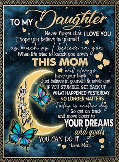 Shop for unique Mother apparel and homegoods on CoolFamilyTee. Find the perfect Mother t-shirts, mugs, posters, phone cases, and more. Daughter Poems, Mother Daughter Quotes, I Love My Daughter, Mother Quotes, My Love, Daughters Birthday Quotes, Love Quotes For Daughter, Mother Mother, Daughter Birthday