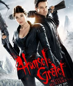 Hansel and Gretel witch hunters. Saw this for Valentines day with my boyfriend
