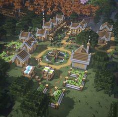 Minecraft Cottage, Cute Minecraft Houses, Minecraft City, Minecraft Plans, Minecraft House Designs, Minecraft Survival, Minecraft Construction, Amazing Minecraft, Minecraft Bedroom