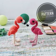 This Flamingo amigurumi pattern is a beautiful project for bird lovers. Use this free crochet pattern to create a gorgeous inch flamingo bird cm). Crochet Bird Patterns, Crochet Birds, Amigurumi Patterns, Crochet Animals, Crochet Motif, Crochet Yarn, Kawaii Crochet, Cute Crochet, Crochet For Kids