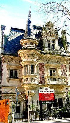 Colegio en Belgrano en las casonas antiguas. Buenos Aires. Argentina