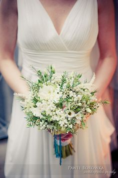 my daughter's wedding bouquet