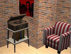 TheNinthWaveSims: The Sims 2 - TS3 UNI Standing Stereo for The Sims 2