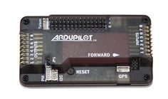This is the physical boards that contain the sensors and processors.  The hardware can be thought of as the little PC that runs the autopilot software.  Official APM hardware available to buy from Unmanned Tech in the UK.   There are also are many other compatible boards (and also clones) but for the best experience its best to buy official ardupilot boards.