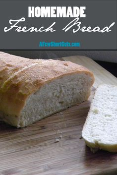 How many nights a week do you grab a loaf of French bread, or Italian bread from the bakery at the g ...