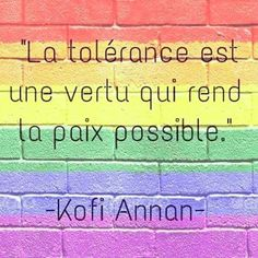indispensable tolérance