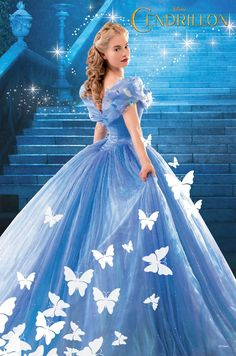Lily James, Disney, Cinderella, 2015