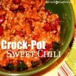 Crock-Pot Sweet Chili