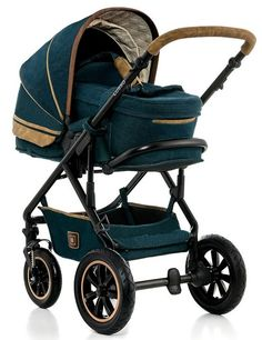 Moon Lusso Kinderwagen mit Tragetasche für Babys. Günstiger Kombiwagen mit Stil!