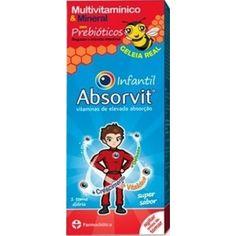 Absorvit Infantil é um suplemento alimentar desenvolvido especialmente para promover o desenvolvimento, crescimento e vitalidade em crianças a partir dos 3 anos.