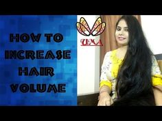 HAIR VOLUME BOOSTER IN ONE DAY- SUPER LONG HAIR (HINDI with English subtitle) - YouTube