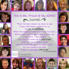 This Is Me, Proud of My ADHD