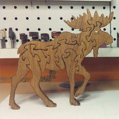 Puzzle deer