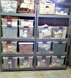 Holiday Decor Storage