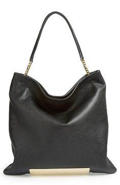 Shop now: Charlie Convertible Leather Tote