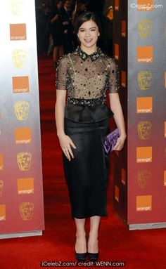 Orange British Academy Film Awards (BAFTAs) held at the Royal Opera House - Arrivals Hailee Steinfeld photo