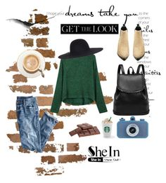 """Shein contest"" by christine-792 ❤ liked on Polyvore featuring J.Crew, LIST and Acne Studios"