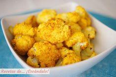 ¿Sueles degustar la coliflor solo cocida, con un poco de aceite y sal? Llénala de sabor con las especias que te recomiendan desde el blog RECETAS DE ESCÁNDALO.