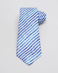 Armani Collezioni Diagonal Stripe Classic Tie