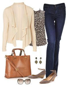"""""""Tame Animal"""" by fiftynotfrumpy ❤ liked on Polyvore featuring Citizens of Humanity, Wallis, Virgins Saints & Angels, Witchery, Accessorize, Diane Von Furstenberg and belle by Sigerson Morrison"""
