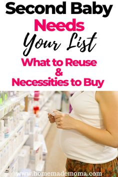 You have a little family member now, or you are going to have a little one soon. Now it is time to start purchasing the newborn needs. Here is the full list for your baby. Baby Needs List, Baby List, Second Baby, First Baby, Baby Baby, Baby Registry List, Second Pregnancy, Early Pregnancy, Pregnancy Tips