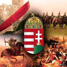 """/ Ha békét akarsz, készülj a háborúra. Hungary History, Hungary Travel, Family Roots, Freedom Fighters, Budapest Hungary, My Heritage, Coat Of Arms, Holy Spirit, Culture"