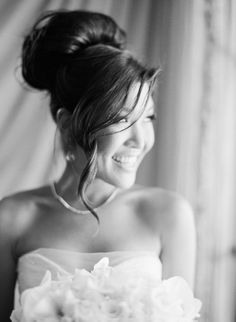 Wedding Hairstyle   : Featured Photographer:Sylvie Gil Photography; wedding hairstyle idea