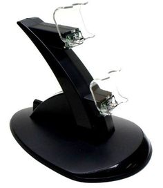 Dual Charging Station for Playstation 4 Controller http://www.cheapgamesshop.com/dual-charging-station-for-playstation-4-controller/