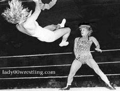 Penny Banner www.lady00wrestling.com Woman Wrestler Of All Time