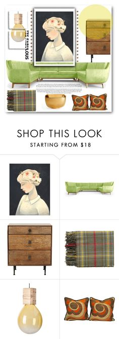 """""""Where is my blanket?"""" by gul07 on Polyvore featuring interior, interiors, interior design, home, home decor, interior decorating, Joybird Furniture, Topshop and AERIN"""