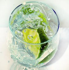 Lime infused water, 'add a pinch of himalayan salt,' saying James Duigan in his latest book.