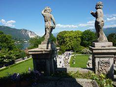 I giardini borromeo dell'Isola Bella sul Lago Maggiore...un angolo di paradiso in mezzo all'acqua!  ph_ Silvia Longo Dorni