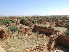 """Kuldhara, India, a """"village of death"""" -- or cursed because its people vanished suddenly? Few visit, and even fewer spend the night. Picture: Chandra / Flickr"""