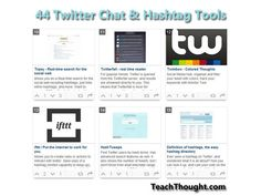 44 Twitter Chat Tools For The Modern Teacher