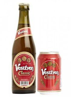 VESTFYEN CLASSIC / Pilsner – 4,6% vol.  Vestfyen Classic er en lidt mørkere og fyldigere øl end Vestfyen Pilsner, brygget på samme gode råvarer. Vestfyen Classic udgør dermed et godt alternativ som ledsager til det klassiske, danske frokostbord. Vestfyen Classic blev lanceret ved indgangen til 1997 og har allerede på et tidligt tidspunkt bevist sin popularitet, og er i dag en helt naturlig del af butikkernes sortiment.