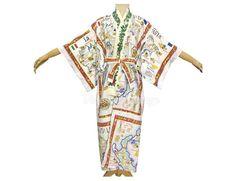 Upcycled vintage linen tea towel women's yukata | Etsy Vintage Linen, Upcycled Vintage, Dress Vintage, Vintage Outfits, Yukata, Linen Fabric, Tea Towels, Beautiful Dresses, Floral Prints