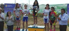 Los ciclistas sexitanos consiguieron una decena de podios en Churriana