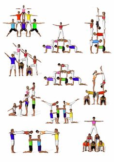 Yoga for Weight Loss: What you need know to succeed sextetos de acrosport Acro Yoga Poses, Partner Yoga Poses, Dance Poses, Group Yoga Poses, Chico Yoga, Cheer Stunts, Cheerleading Stunting, School Cheerleading, Cheerleading Cheers