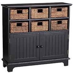 Pier 1 Holtom Storage Cabinet - looking for something like this to store kids' arts and crafts materials in main area