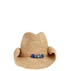 Mona Raffia Cowboy Hat