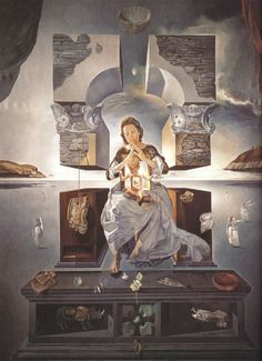 La Madona de Port Lligat #dalí #masterpiece