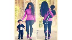 #Healthies: Celebrity Fitness on Instagram | Blac Chyna @▲Čhynå▲™