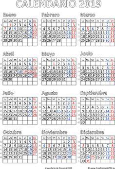 Printable 2018 calendar for United States in PDF format. Print calendar 2018 for free. 2018 Printable Calendar, Print Calendar, Calendar 2018, Yearly Calendar, Calendario Editable, School Holiday Calendar, Roman Calendar, Holiday Dates, Usa Holidays