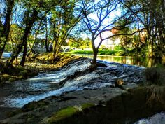 Boa tarde :D O rio Vez em Arcos de na tarde de quase Verão de hoje